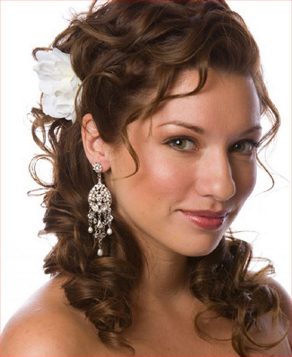 Well Known Wedding Hairstyles For Short Curly Hair With Regard To Wedding Hairstyles For Short Curly Hair Formidable Ideas Hairstyle (View 15 of 15)