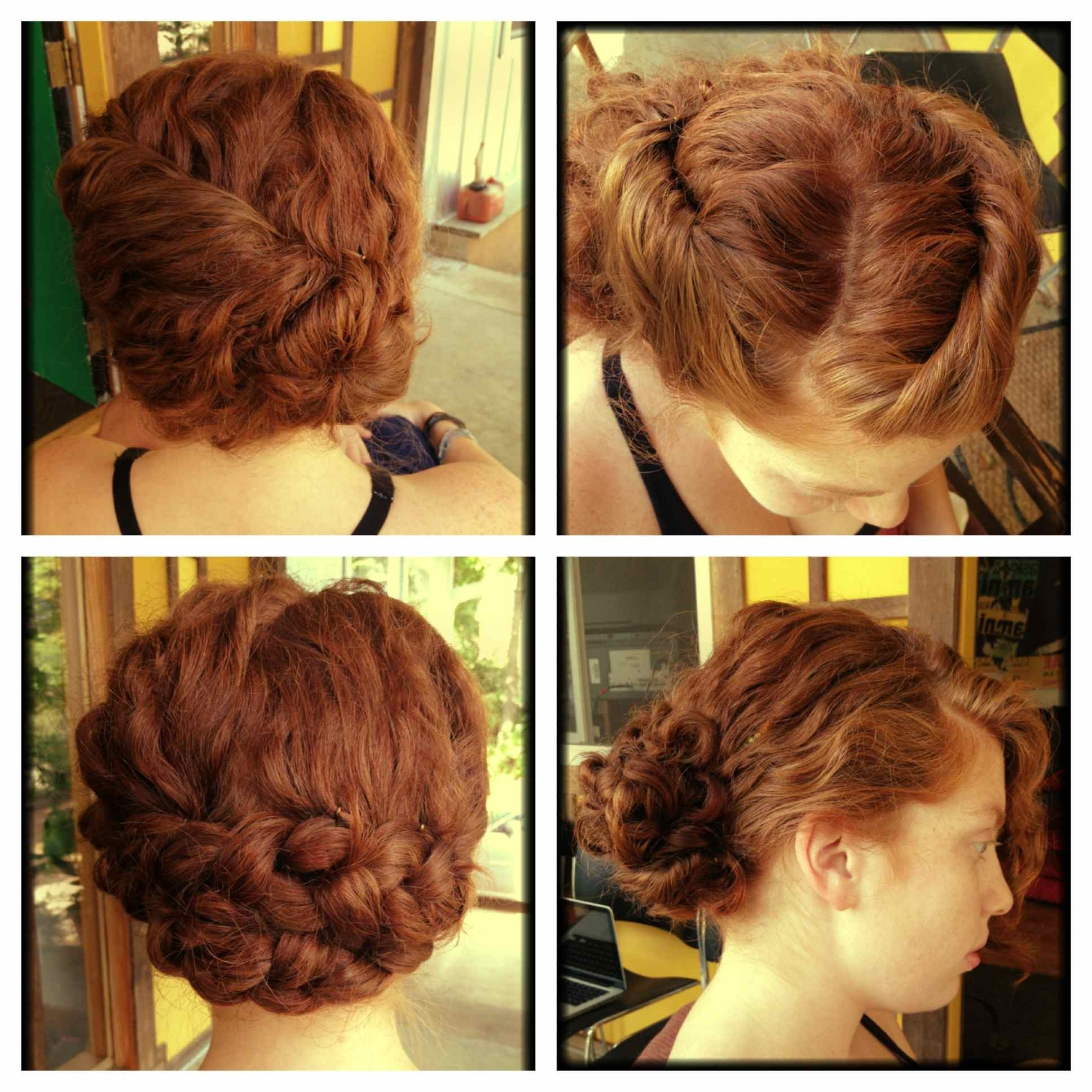Well Known Wedding Hairstyles For Short Natural Curly Hair Regarding Ideas Naturally Curly Weddingyles For Hair Inspirational Medieval (View 6 of 15)
