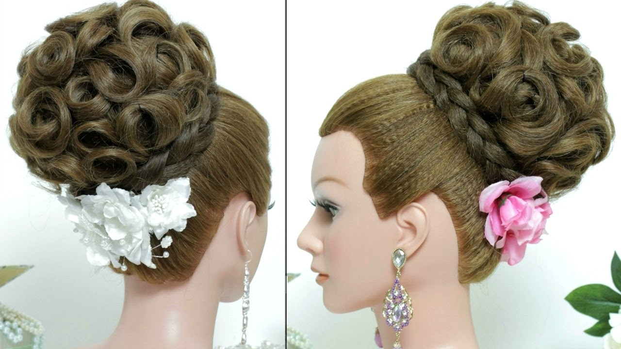 Well Known Wedding Hairstyles Updo Tutorial Throughout Bridal Hairstyle (View 2 of 15)