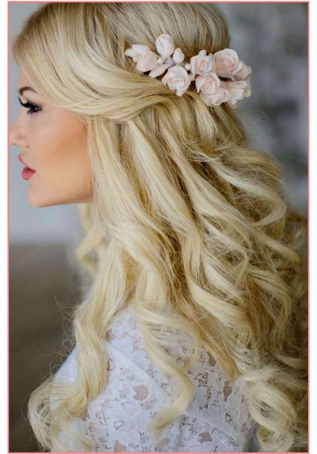 Well Known Wedding Hairstyles With Long Hair With √ 24+ Awesome Wedding Hairstyle For Long Hair: Cute Hairstyles (View 15 of 15)