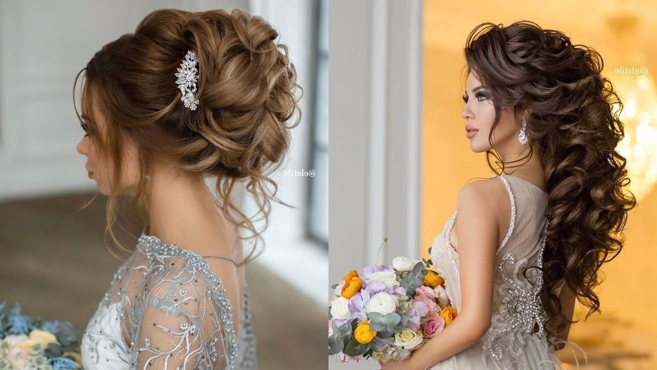 Well Known Wedding Hairstyles With Ombre Throughout Wedding Hairstyles For Brown Ombre Hair – Youtube (View 15 of 15)