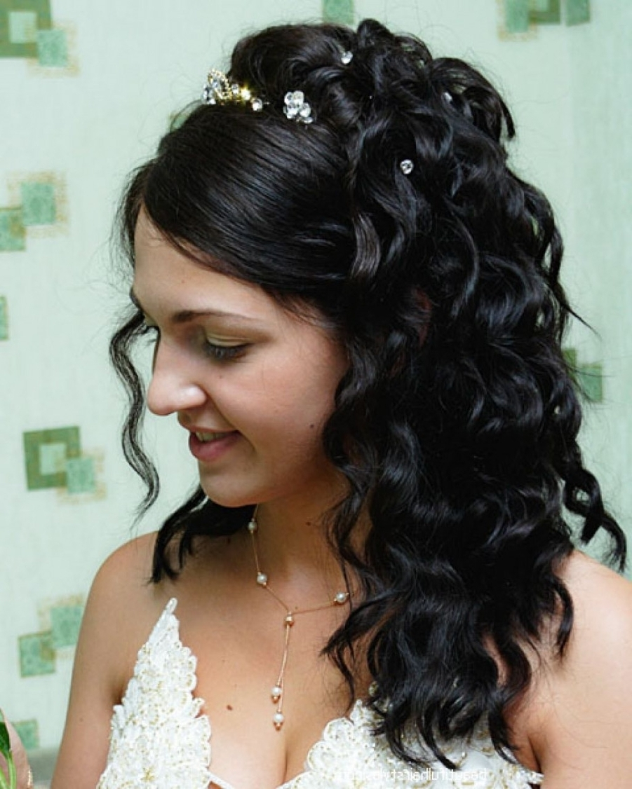 Well Known Wedding Hairstyles With Weave For Photo: Wedding Hairstyles Long Weave Wedding Hairstyles For Long (View 15 of 15)