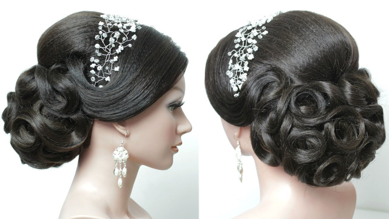 Well Known Wedding Juda Hairstyles Regarding Bridal Juda Hairstyle Stepstep (View 7 of 15)