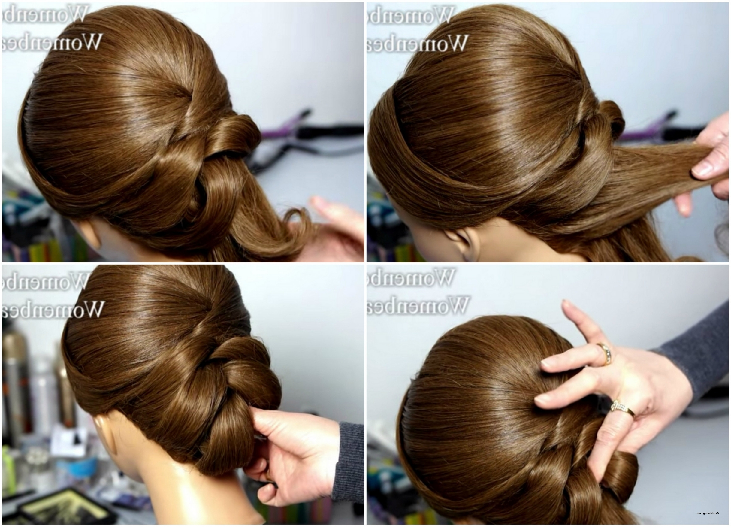 Well Known Wedding Juda Hairstyles Within Indian Hair Style Stepstep Best Of Bridal Juda Hairstyle Step (View 5 of 15)