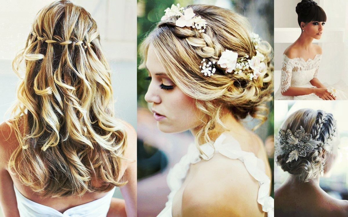 Well Liked Beach Wedding Hairstyles For Medium Length Hair Intended For Inspiring Beachy Hairstyle For Long Hair Beach Wedding Pict Medium (View 14 of 15)