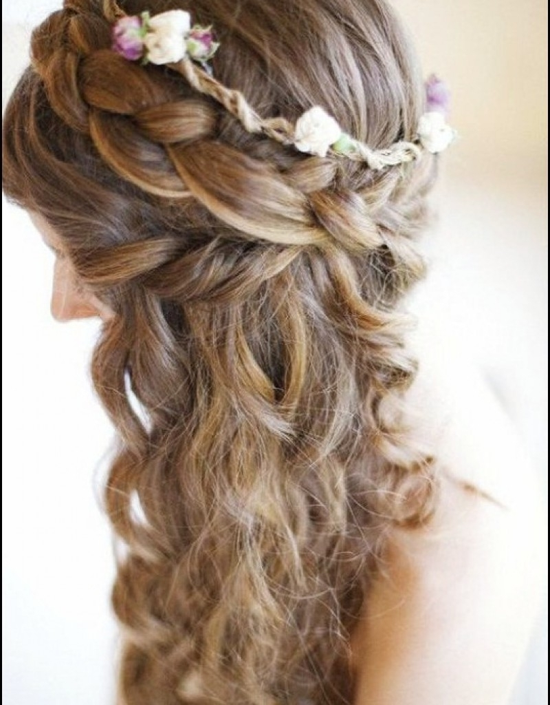 Well Liked Beach Wedding Hairstyles With Regard To Beach Hairstyles For Short Hair On Wedding Day Hairstyles For Short (View 11 of 15)