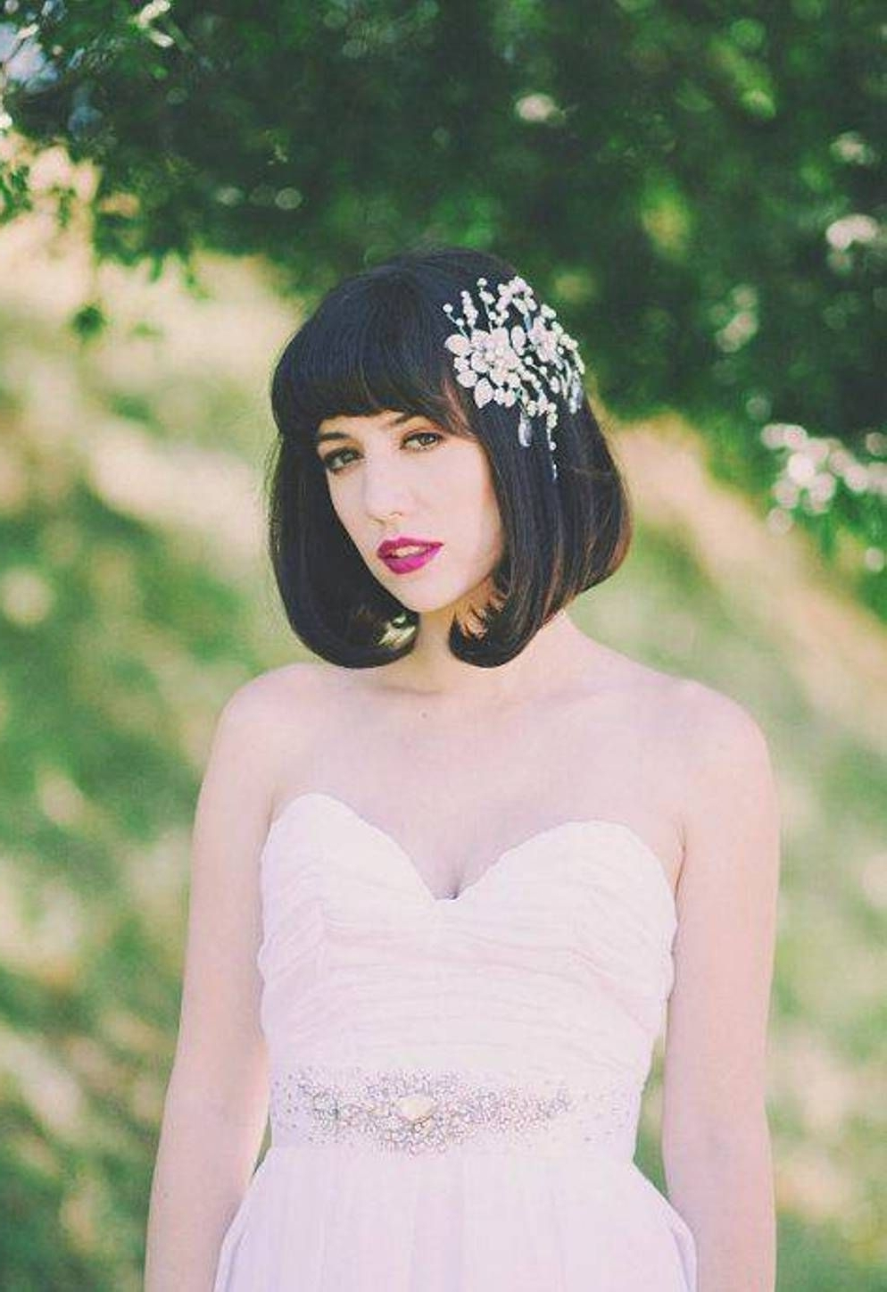 Well Liked Bob Wedding Hairstyles For Black Bob Wedding Hairstyles For Medium Hair – Http://hairstylee (View 15 of 15)