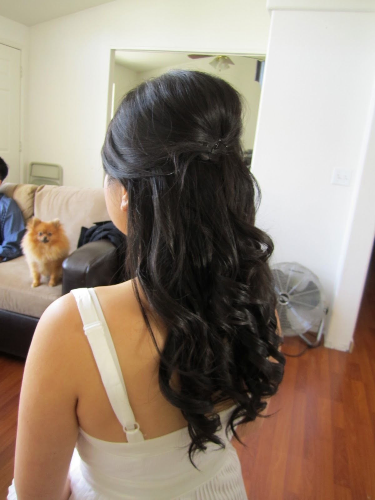 15 Photo Of Down Straight Wedding Hairstyles