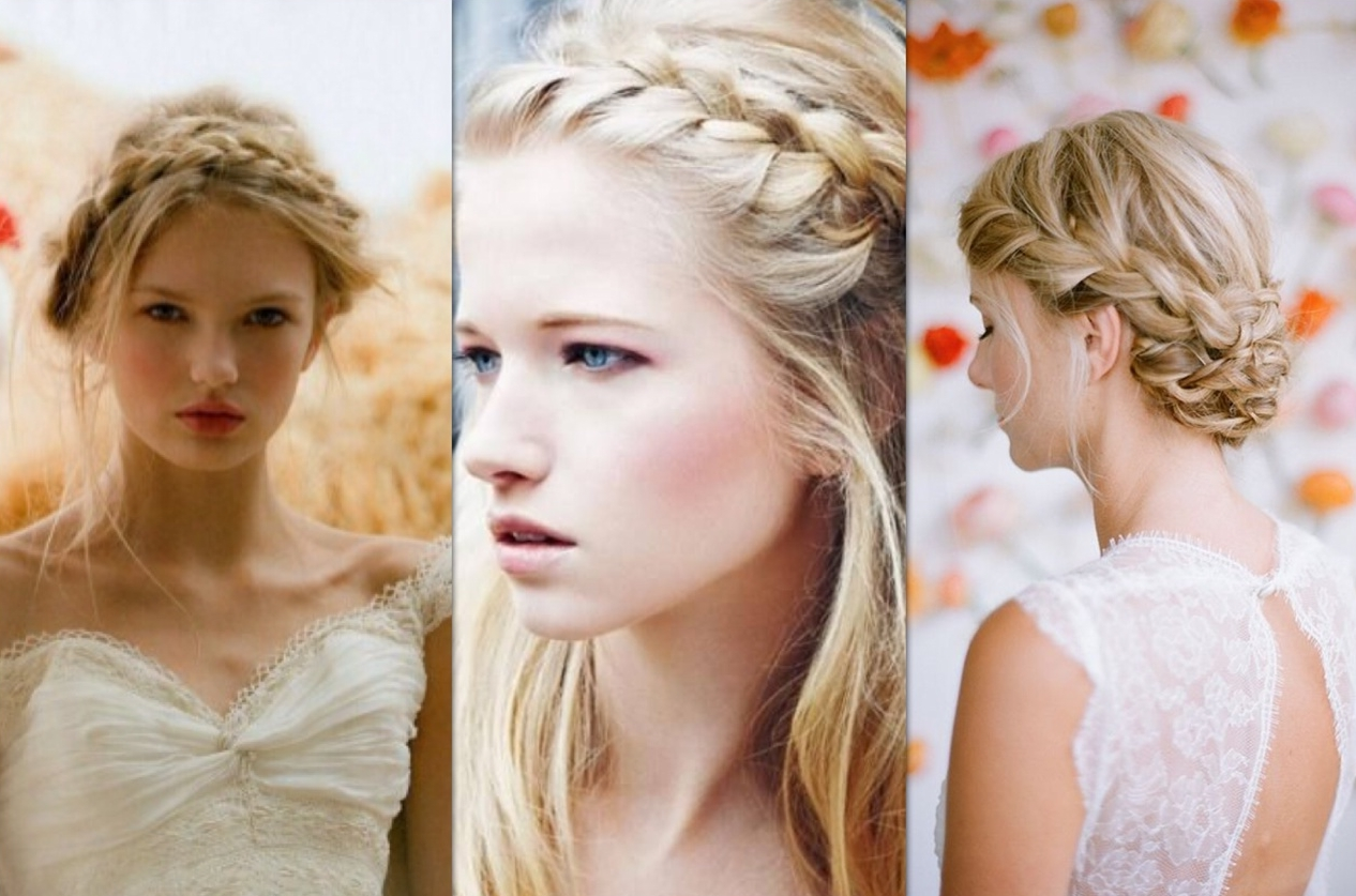 Well Liked Half Up Half Down With Braid Wedding Hairstyles Throughout Wedding Hairstyles Half Up Half Down With Braid Braids (View 8 of 15)