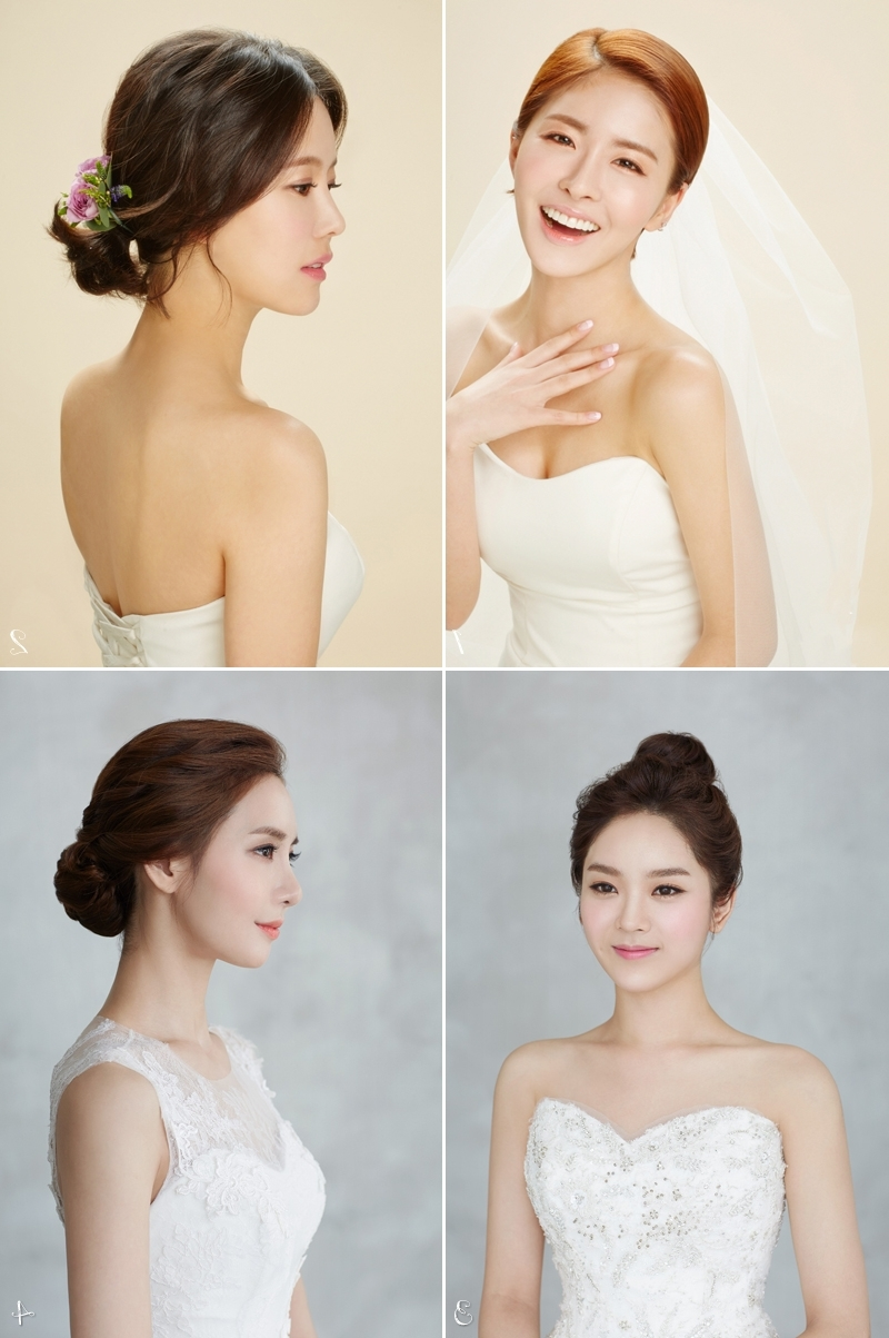 Well Liked Korean Wedding Hairstyles With 6 Korean Bridal Hair & Makeup Style Trends You Must Know! – Praise (View 9 of 15)