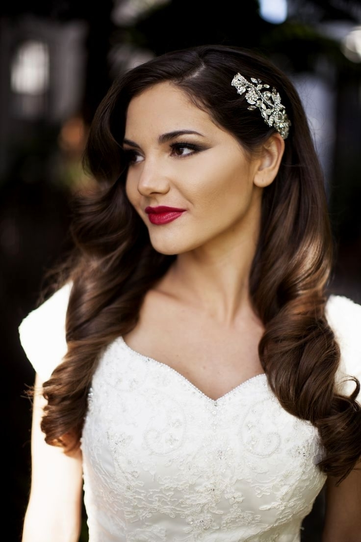 Well Liked One Side Up Wedding Hairstyles Within Wedding Hairstyles One Side Up (View 1 of 15)