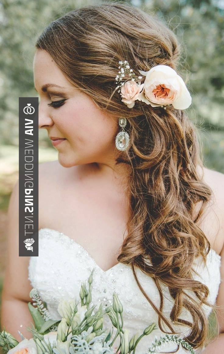Well Liked Side Swept Wedding Hairstyles Intended For Brilliant! – Side Swept Wedding Hair Side Swept Wedding Hair (View 8 of 15)