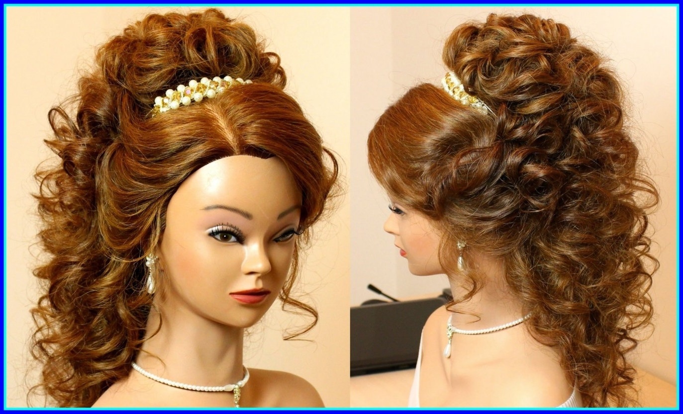 Well Liked Wedding Hairstyles With Extensions Intended For Incredible Romantic Wedding Hairstyle For Long Hair Sensational Prom (View 11 of 15)