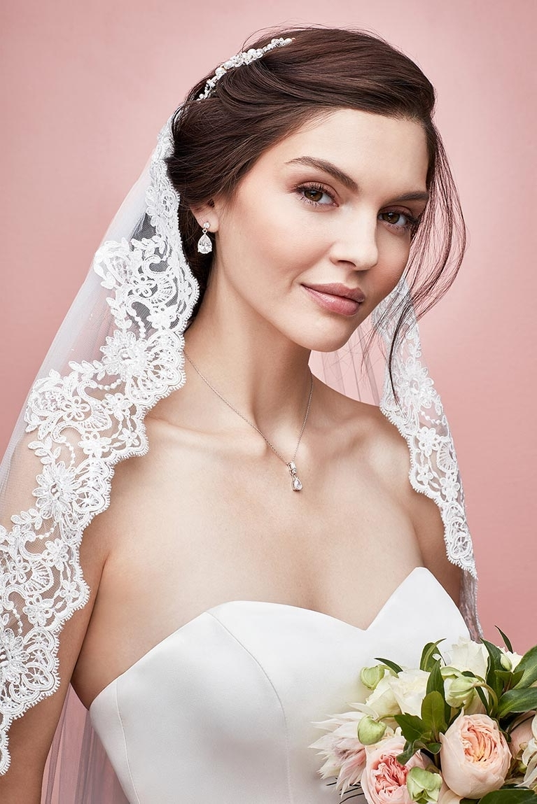 Well Liked Wedding Hairstyles With Headband And Veil Throughout Ideas For Wedding Hairstyles (View 7 of 15)