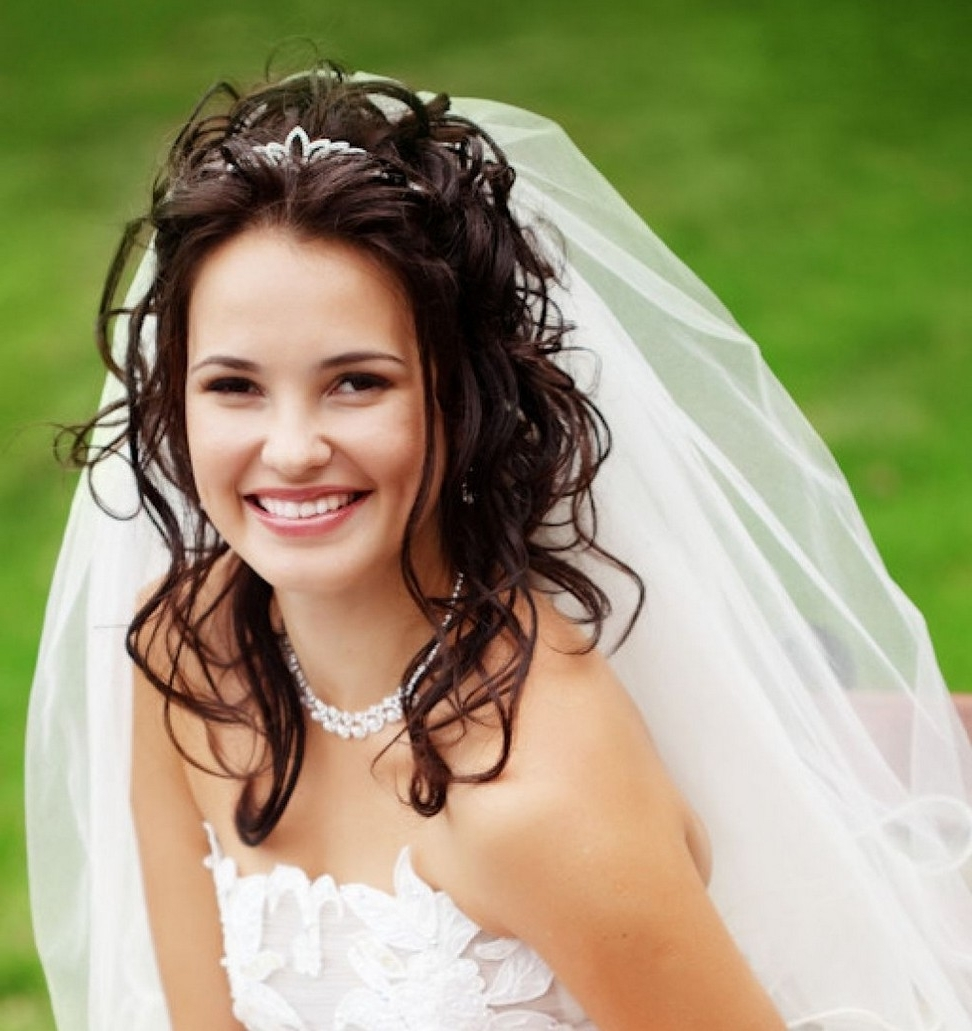 Well Liked Wedding Updos For Long Hair With Tiara Pertaining To Wedding Hairstyle For Long Hair Guide – Art Of Fashion Living (View 15 of 15)