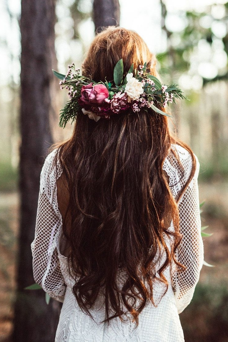 Widely Used Boho Wedding Hairstyles Within 15 Heavenly Wedding Hair Ideas (View 13 of 15)
