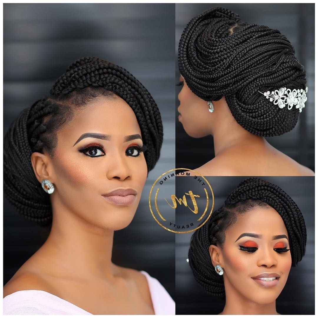 Featured Photo of Box Braids Wedding Hairstyles