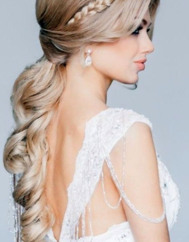 Widely Used Curls Down Wedding Hairstyles In Wedding Hairstyles Down Curls (View 15 of 15)