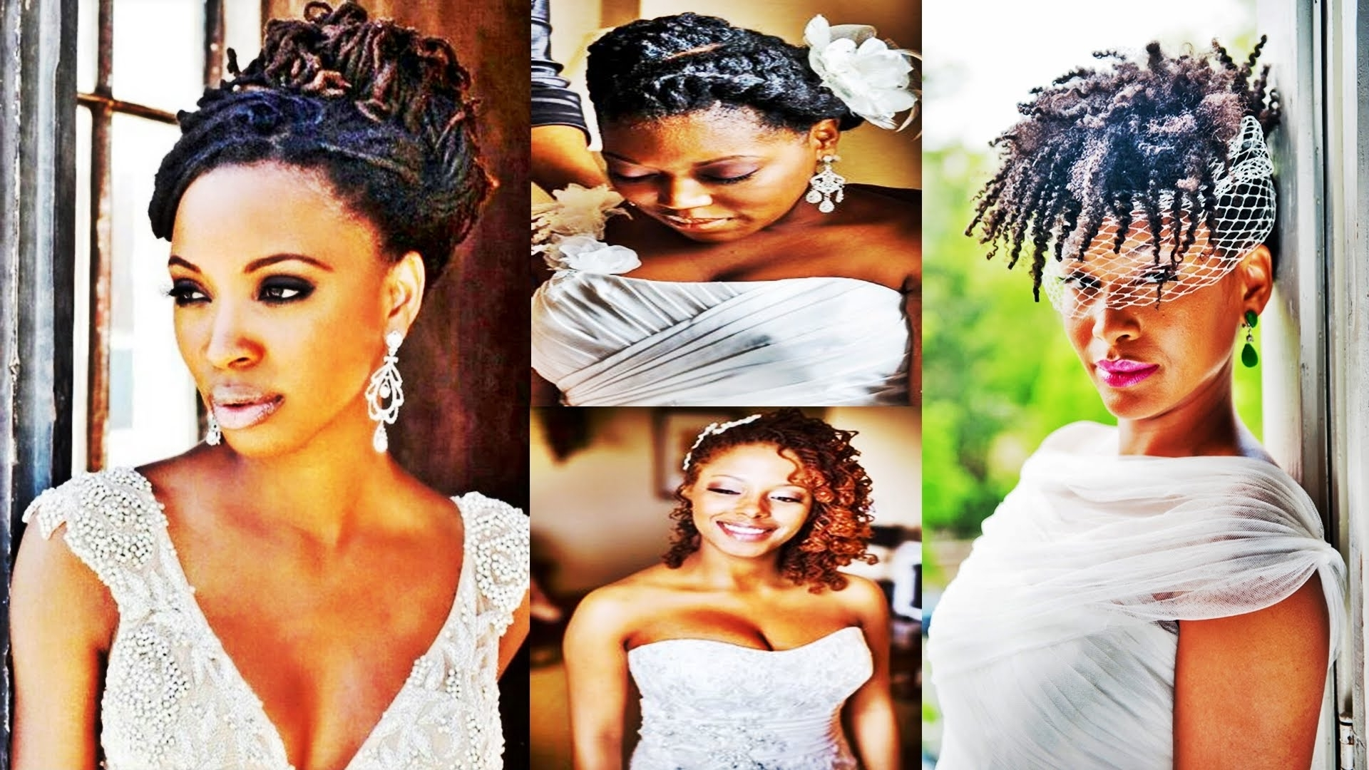 Widely Used Ebony Wedding Hairstyles In 2016 Wedding Hairstyles For Black And African American Women – Youtube (View 15 of 15)