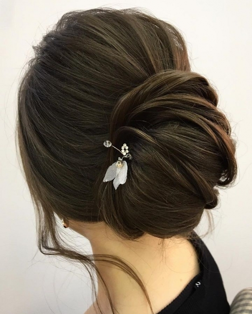 Widely Used Knot Wedding Hairstyles For Wedding Hairstyles For Long Hair The Knot For Your Home (View 15 of 15)