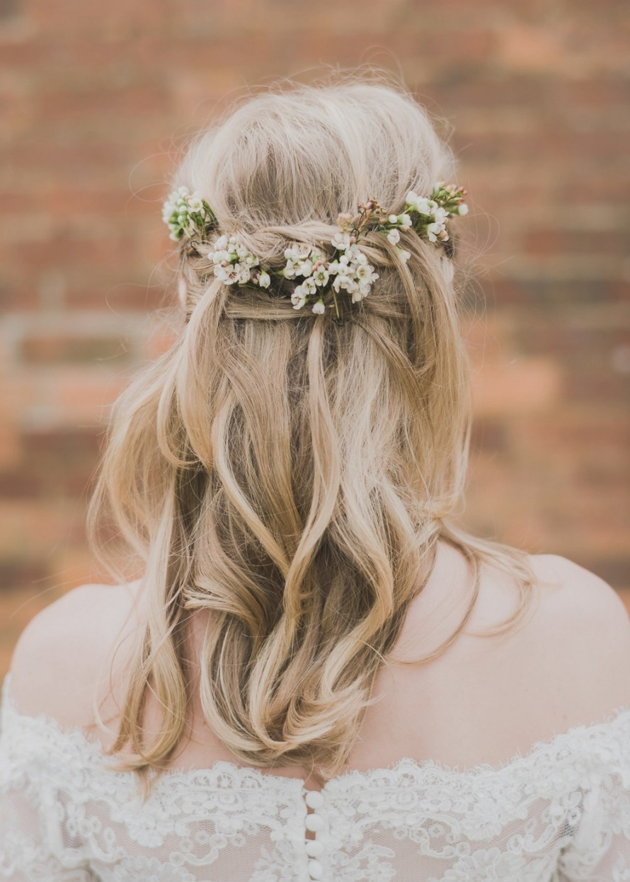 Widely Used Rustic Wedding Hairstyles With Rustic Wedding Hairstyles Beautiful Wedding Hairstyles For Fine Thin (View 15 of 15)