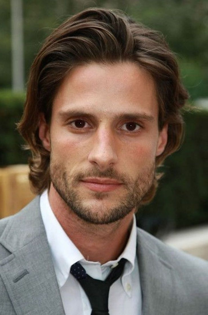 Widely Used Wedding Hairstyles For Mens Pertaining To Mens Long Hair Wedding, Men's Facial Hair For Wedding, Mens (View 15 of 15)