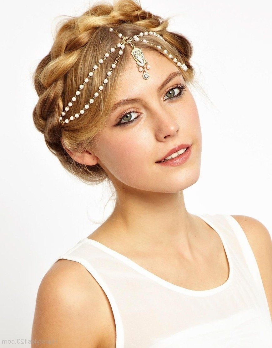Widely Used Wedding Hairstyles With Hair Jewelry Throughout Victorian Hairstyles (View 8 of 15)