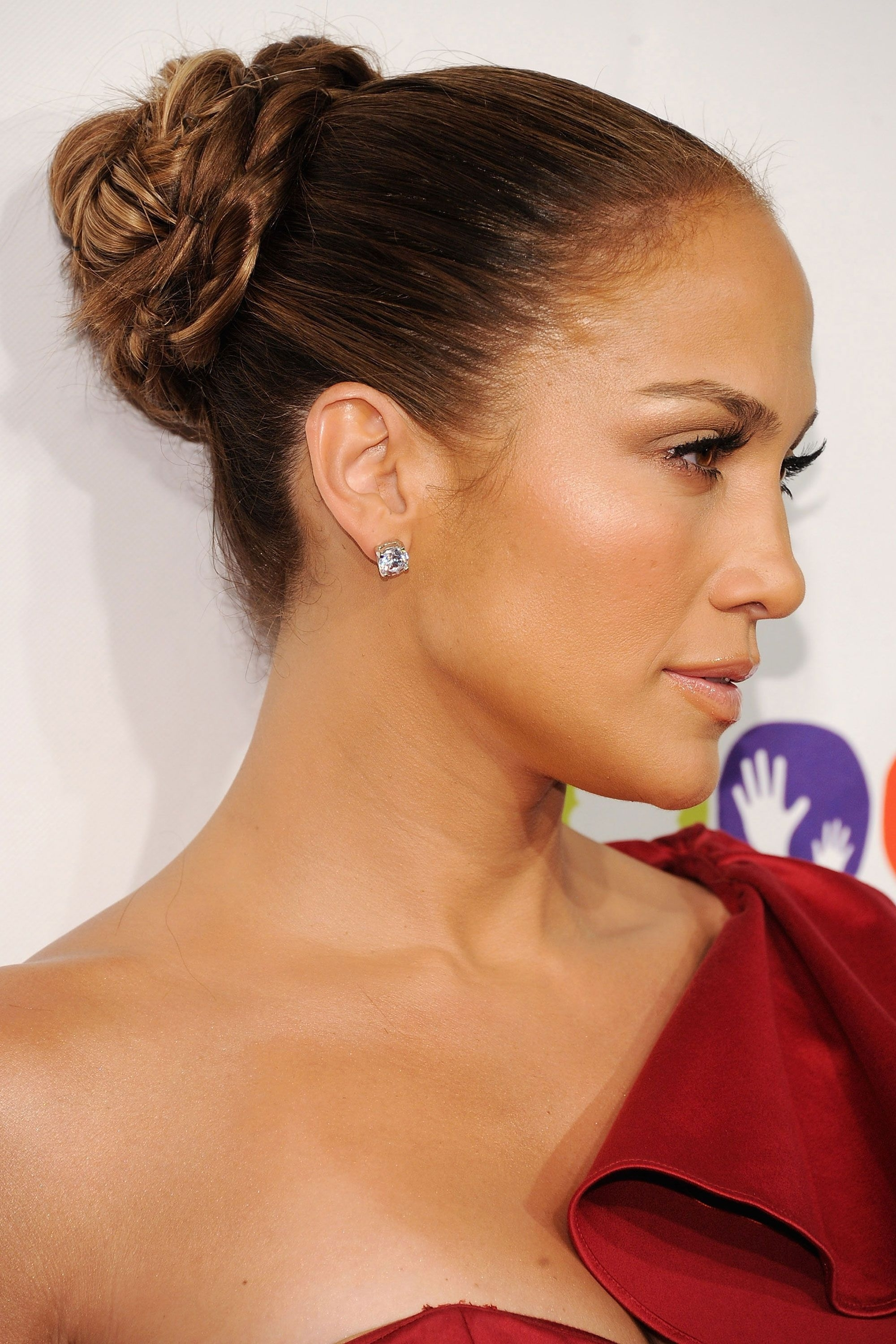 10 Best Updos For Long Hair – How To Do An Updo Regarding Best And Newest Jennifer Lopez Braided Hairstyles (View 12 of 15)