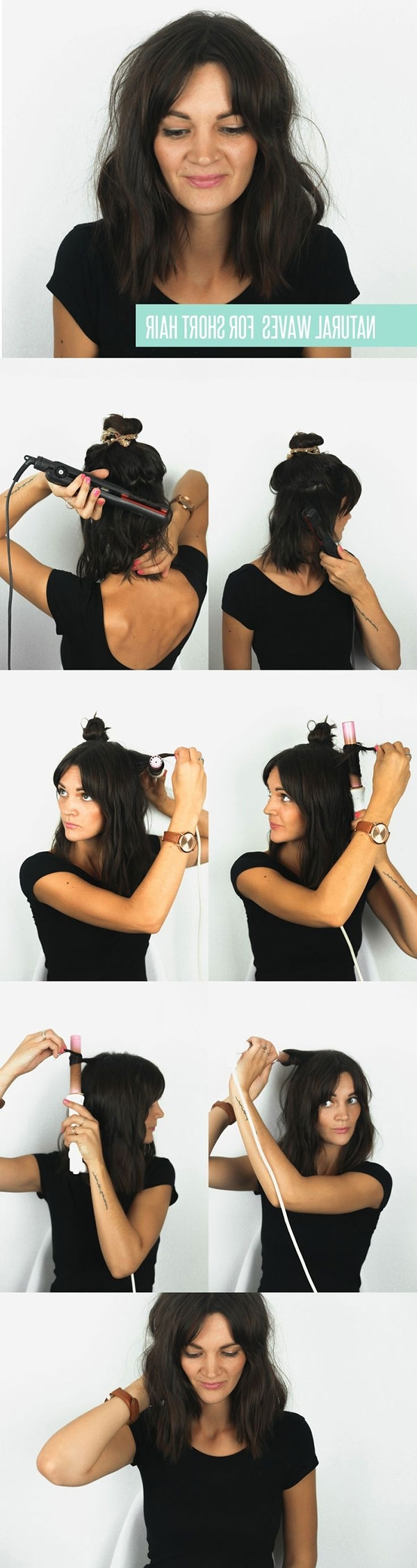 15 Cute And Easy Hairstyle Tutorials For Medium Length Hair – Gurl With Regard To Favorite Quick Braided Hairstyles For Medium Length Hair (View 3 of 15)
