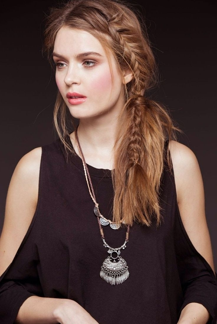 15 Trendy Braided Hairstyles – Popular Haircuts Regarding Most Recently Released Side Braid Hairstyles For Long Hair (View 15 of 15)
