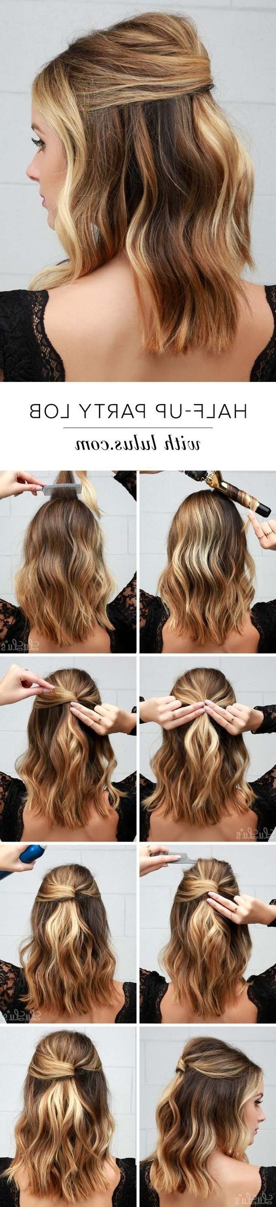 15 Ways To Style Your Lobs (Long Bob Hairstyle Ideas) – Pretty Designs With Regard To Current Braided Lob Hairstyles (View 2 of 15)