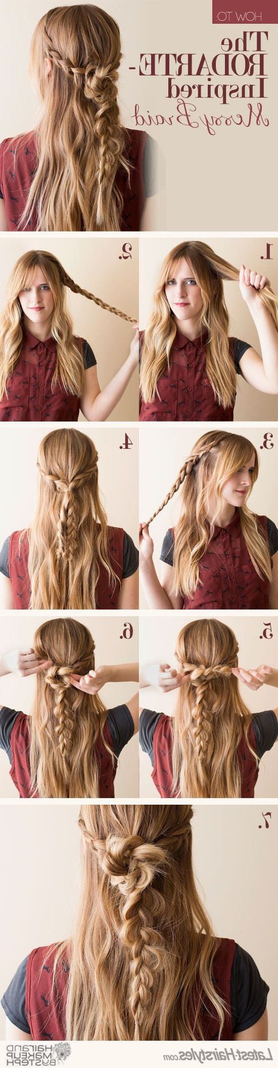 19 Easy Messy Braid Tutorials Anyone Can Do – Gurl (View 8 of 15)