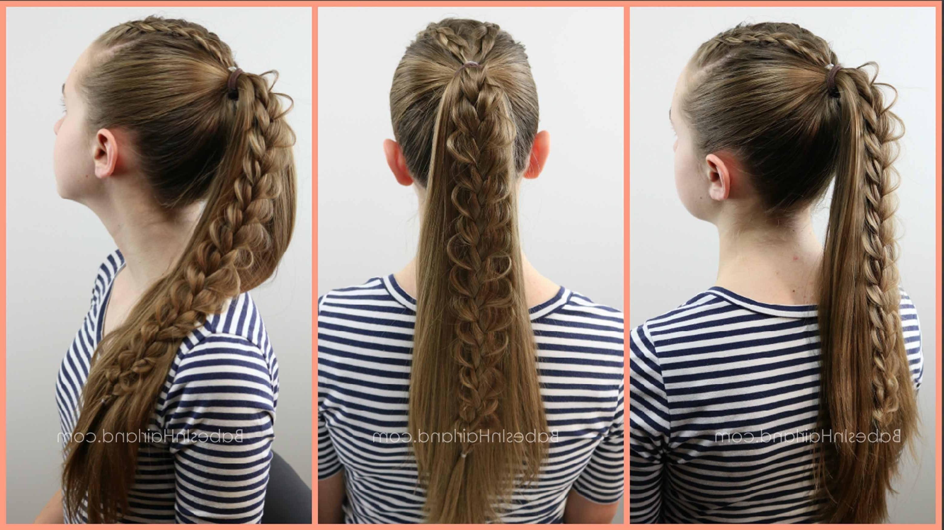 2 Dutch Braids 5 Different Hairstyles (View 1 of 15)