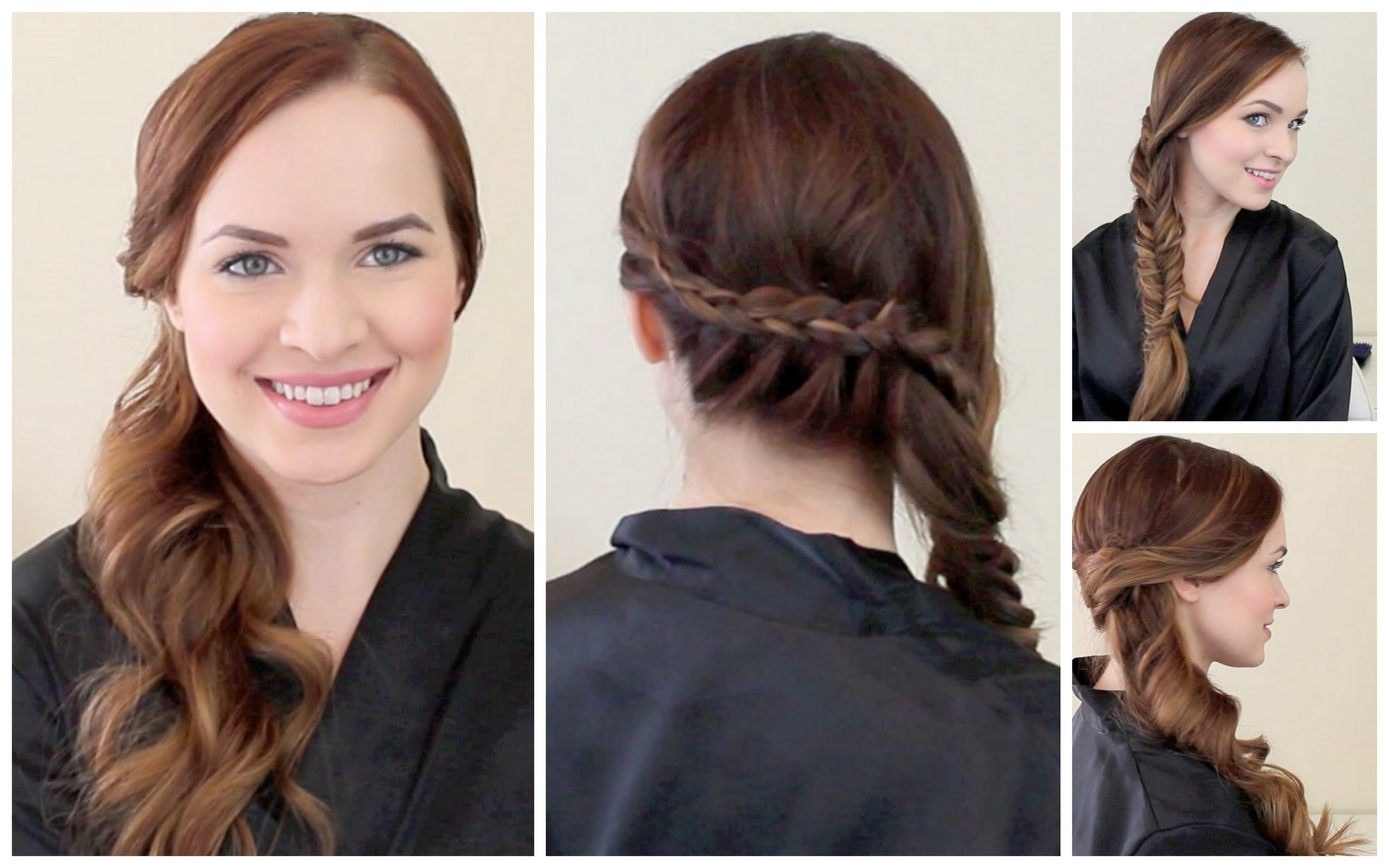2 Graduation Ready Hairstyles! – Youtube Pertaining To 2018 Braided Graduation Hairstyles (View 2 of 15)