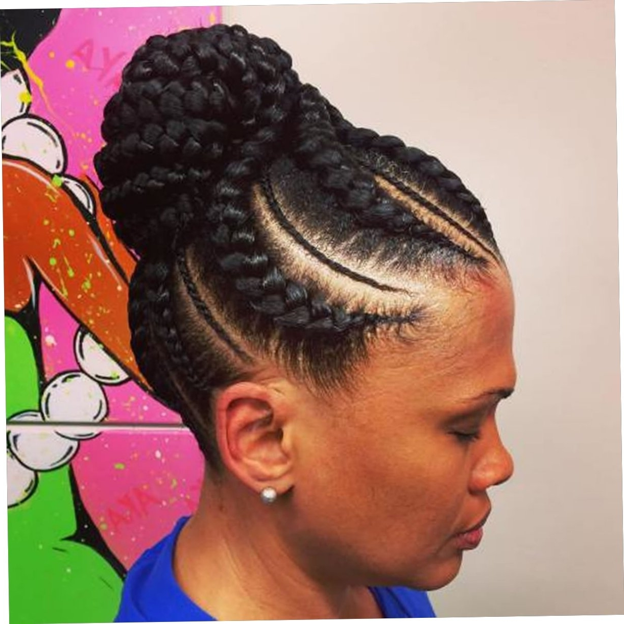 20 Best African American Braided Hairstyles For Women 2017 2018 With Regard To Well Liked African American Braided Hairstyles (View 8 of 15)
