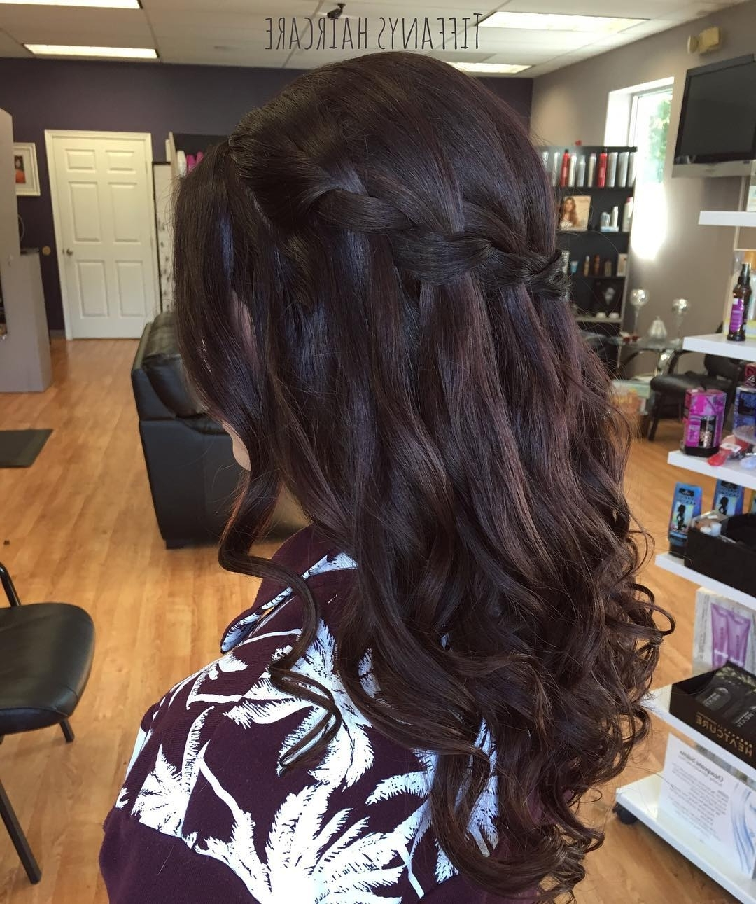 2017 Braided Hairstyles For Dark Hair Inside 40 Gorgeous Brunette Hairstyles (View 1 of 15)