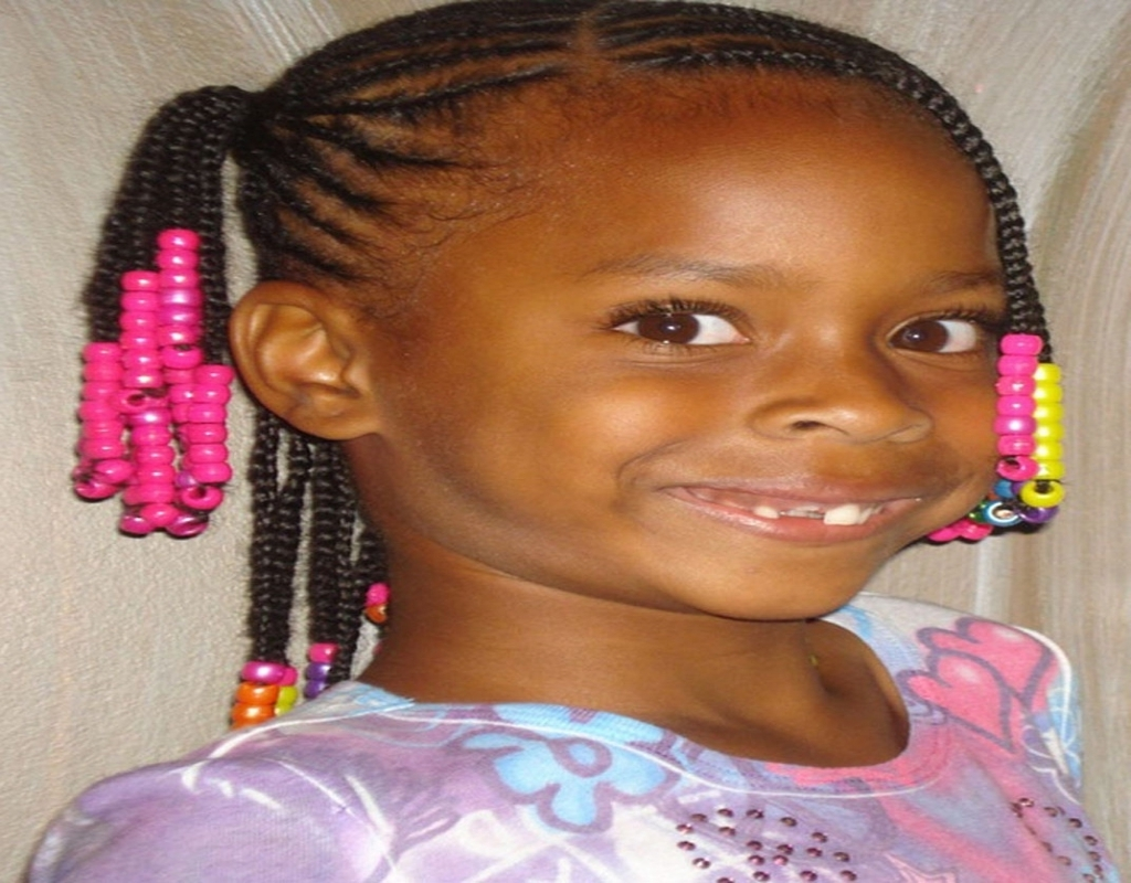 2017 Braided Hairstyles For Little Black Girl With Black Braided Hairstyles For Little Girls (View 1 of 15)