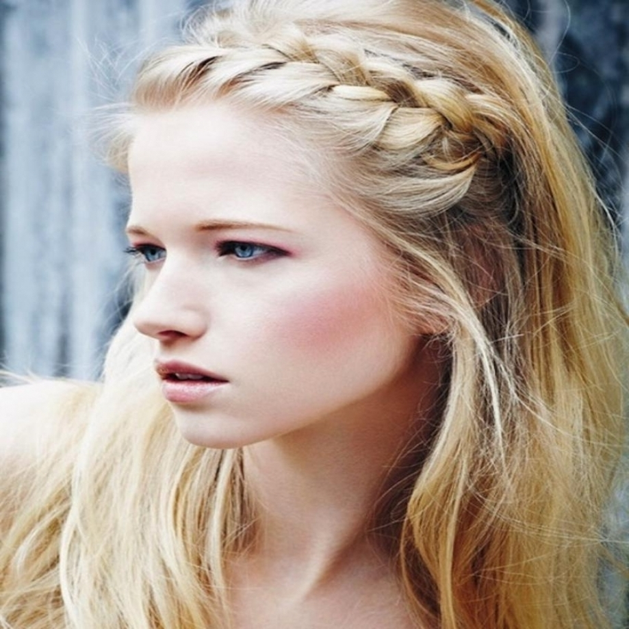 2017 Braided Hairstyles In The Front In 30 Cute Braided Hairstyles Style Arena With Regard To Braided (View 3 of 15)
