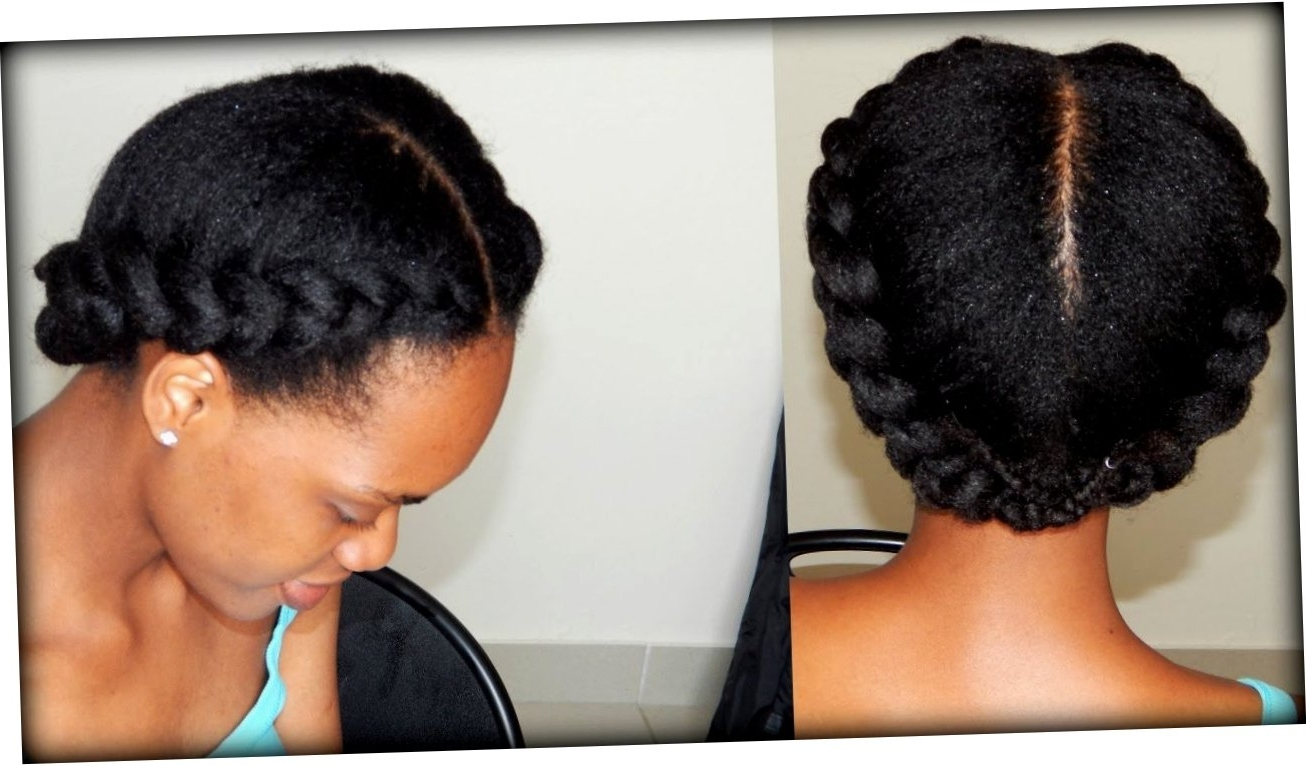 2017 Braided Hairstyles On Natural Hair Intended For African Braided Hairstyles For Natural Hair – Wedding Party (View 1 of 15)