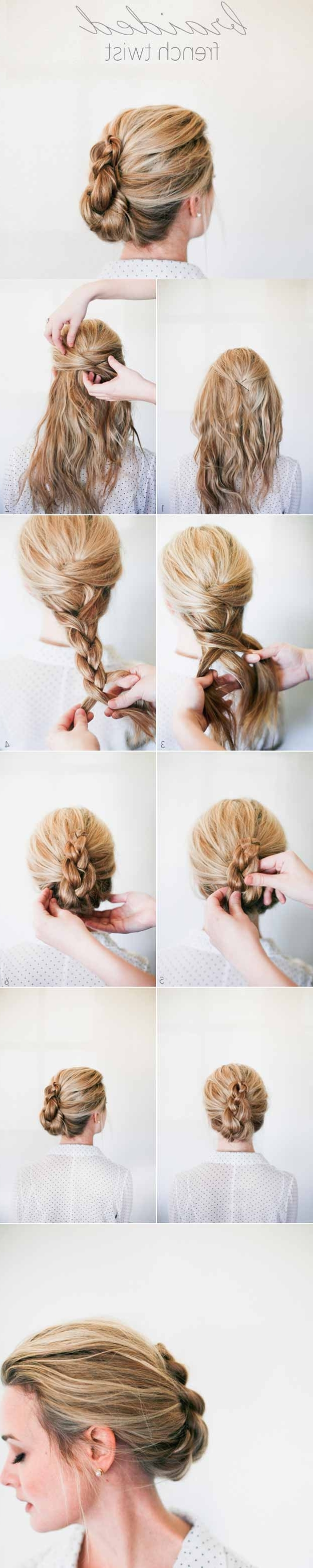 2017 Quick Braided Hairstyles For Medium Hair Throughout 35 Best 5 Minute Hairstyles – The Goddess (View 15 of 15)