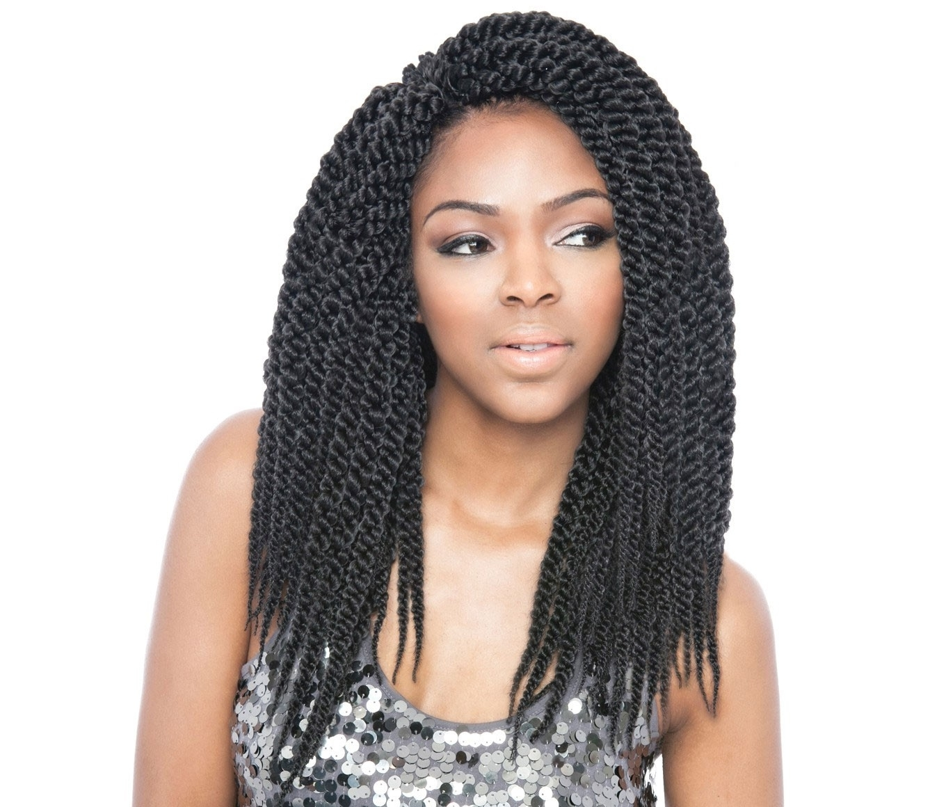 2018 Braided Hairstyles With Crochet In Isis Afri Naptural Crochet Braid Cubic Twist 14 Inch (View 4 of 15)