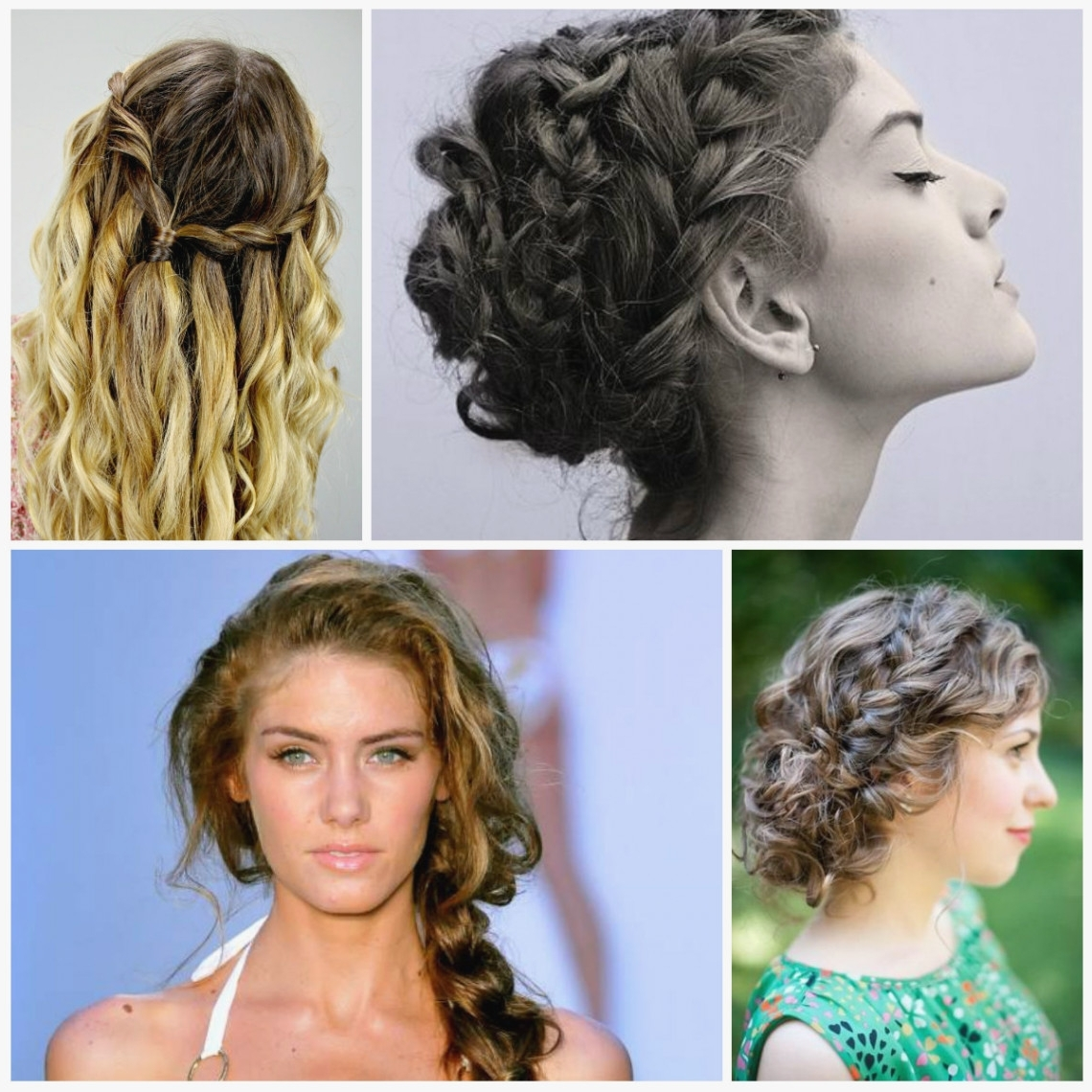 2018 Braided Hairstyles With Curls Inside 13 Good Curly Braided Hairstyles Ideas With Curly Braided Hairstyles (View 7 of 15)