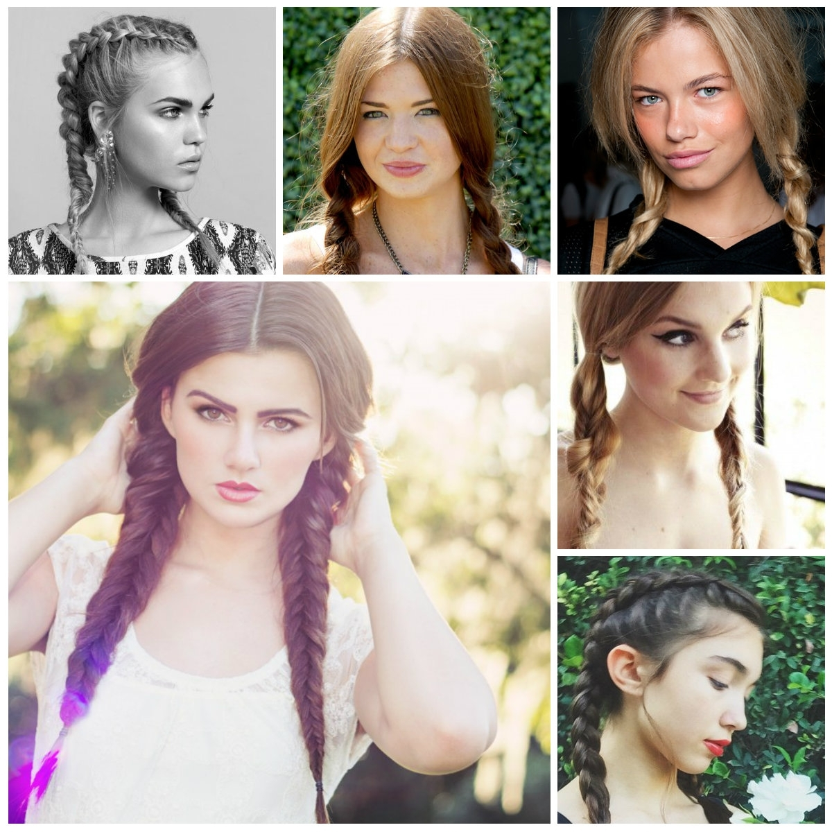 2019 Haircuts, Hairstyles And Hair Within Trendy Pigtails Braided Hairstyles (View 8 of 15)