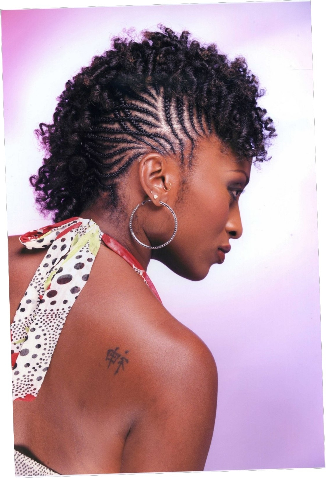 21+ About Braided Natural Hairstyles For Short Hair 2018 With Favorite Braided Natural Hairstyles For Short Hair (View 1 of 15)