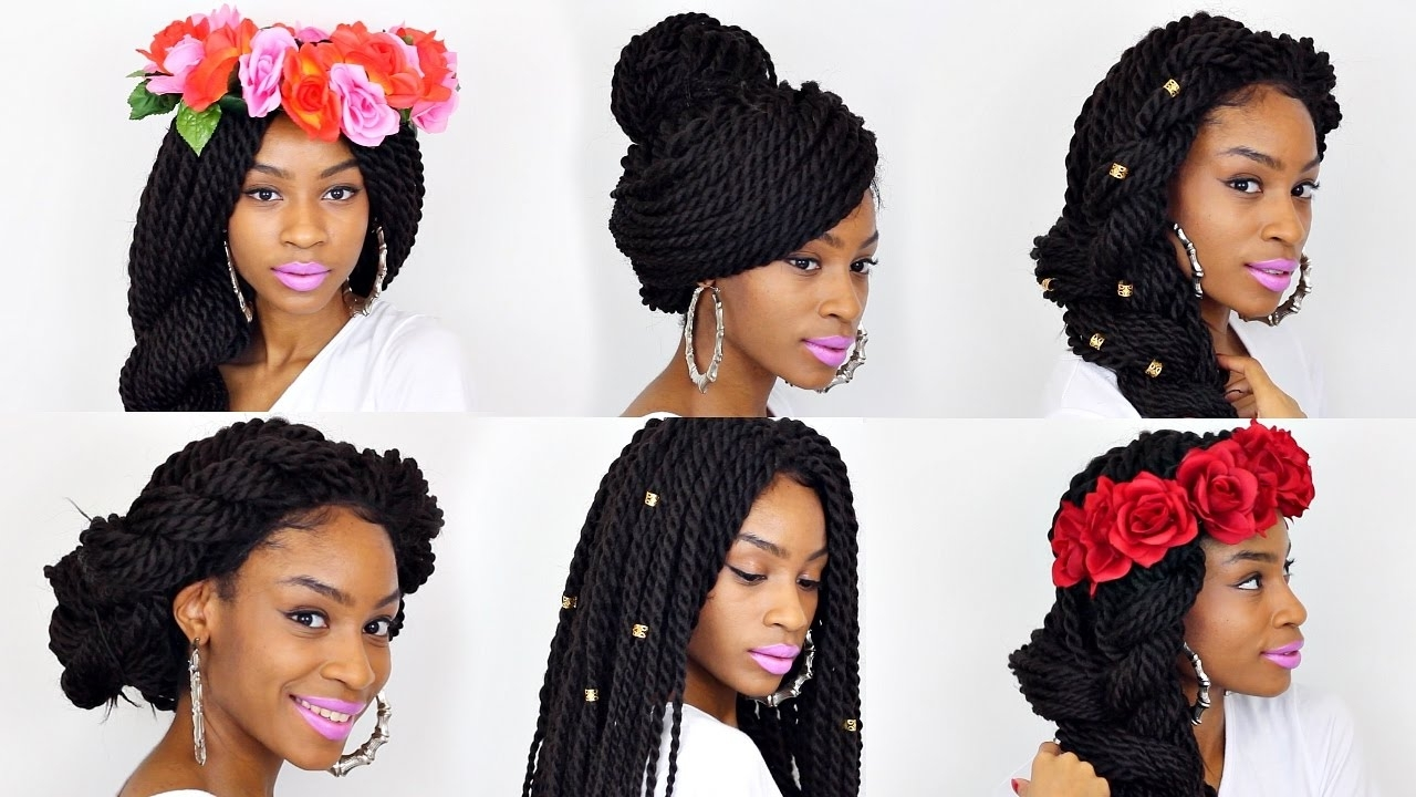 21 Box Braids Hairstyles▻ Affordable Box Braid Wig Under $30 – Youtube For Widely Used Box Braids Hairstyles (View 2 of 15)