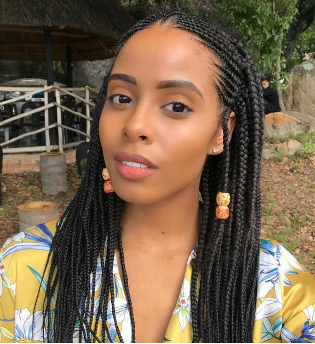 25 Gorgeous Braided Hair Ideas For Black Women (Photos) – Blogit Regarding Favorite Braided Hairstyles To The Scalp (View 1 of 15)