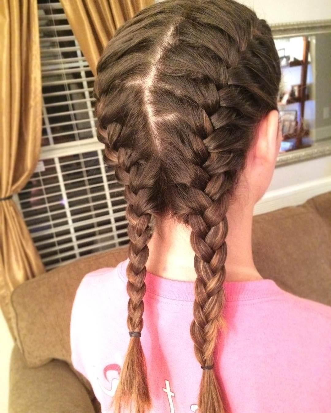 25 Sweet Pigtail Braids Hairstyles — French, Dutch, Fishtails Check With Well Liked Pigtails Braided Hairstyles (View 6 of 15)