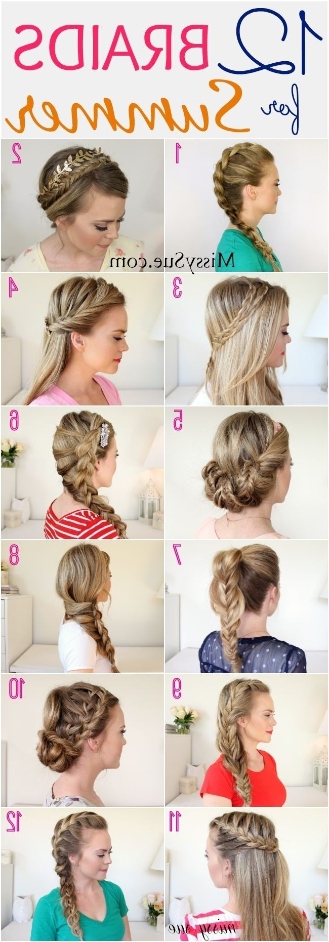 26 Pretty Braided Hairstyle For Summer – Popular Haircuts Pertaining To Most Recently Released Braided Hairstyles For Summer (View 12 of 15)