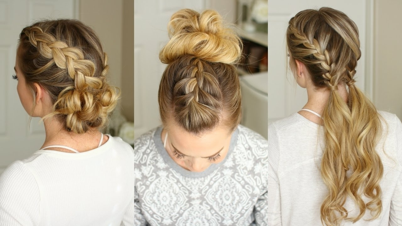 3 Easy Braided Hairstyles (View 4 of 15)