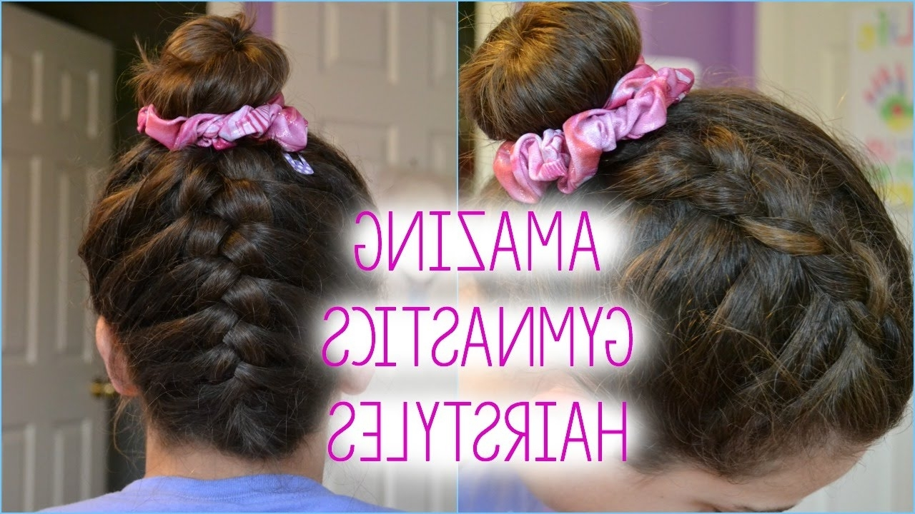 Featured Photo of Braided Gymnastics Hairstyles